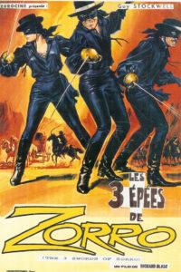 Trois épées de Zorro
