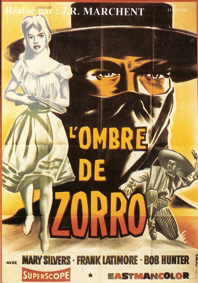 THE SHADE OF ZORRO