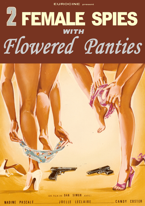 2 FEMALE SPIES WITH FLOWERED  PANTIES
